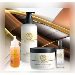 Набор для ламинирования и ухода для светлых волос Barex
