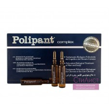 POLIPANT COMPLEX Уникальный биологический ампульный препарат с протеинами, плацентарными и растительными экстрактами для лечения выпадения волос