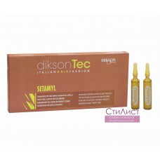 Dikson Setamyl Смягчающее ампульное средство при химической обработке волос 12мл