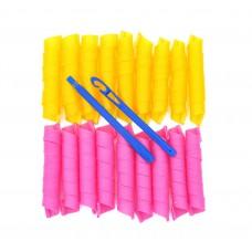Волшебные бигуди magic leverage 45 см*20шт - на длинные волосы