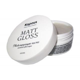 Моделирующая паста для волос сильной фиксации Matt gloss 100 мл