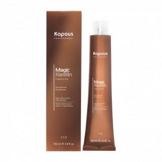 Крем-краска без аммиака для волос с кератином Kapous Magic Keratin 100 мл