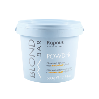 Kapous Blond Bar Обесцвечивающая пудра с антижелтым эффектом ,500г