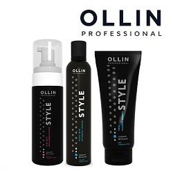 Укладка волос Ollin