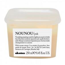 NOUNOU Интенсивная восстанавливающая маска для глубокого питания волос 250мл