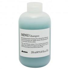 MINU Защитный шампунь для сохранения косметического цвета волос 250мл