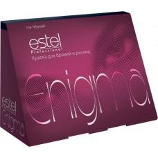 Краска для бровей и ресниц ENIGMA Тон графит (набор)