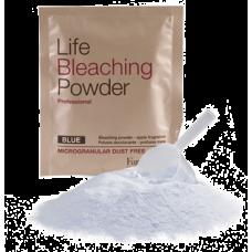 Обесцвечивающая пудра голубая Life Bleaching Powder  30г на развес