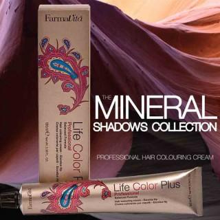 СТОЙКАЯ КРЕМ-КРАСКА ДЛЯ ВОЛОС Коллекция красителей Mineral Shadows FARMAVITA 100мл Италия