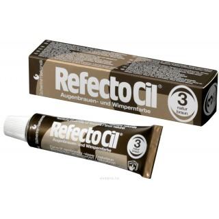 Refectocil ( Австрия) Краска для бровей и ресниц № 3 Коричневый, 15 мл.