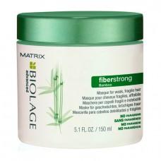 Маска Файберстронг для укрепления ломких волос с экстрактом бамбука 150 мл