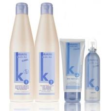 Кератиновое выпрямление волос на 3 месяца Salerm Keratin Shot Набор.