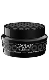Маска с черной икрой глубоко питательная для поврежденных волос 250мл Caviar Sublime Ultimate Luxury Mask 250 мл