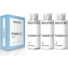 Набор «PowerPlex» для двухшаговой процедуры укрепления, защиты, питания и увлажнения волос 3*100мл